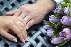 时间婚礼 免版税库存图片