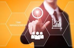 时间安排项目效率战略目标企业技术互联网概念 图库摄影