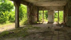 时间损坏的房子 影视素材