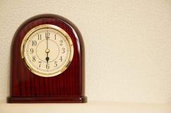 时间是6:00 免版税图库摄影