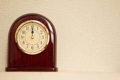 时间是12:00 免版税图库摄影