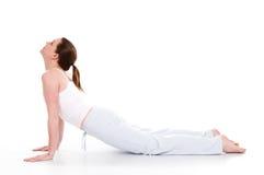 时间瑜伽 免版税库存照片