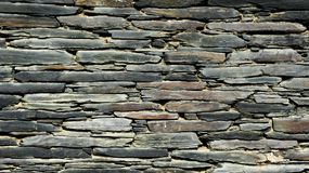 时间石墙  免版税图库摄影