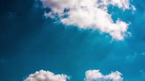 时间间隔移动的云彩 影视素材