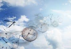 时间飞行 库存照片