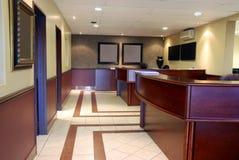 时髦内部的办公室 库存图片