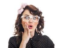 时髦妇女年轻人 免版税库存图片