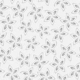 时髦无缝的花卉样式 向量 向量例证