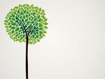 时髦概念树设计 免版税库存照片