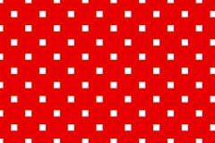 时髦的几何样式 红色纹理白色 免版税库存图片