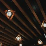 时髦的天花板 库存图片