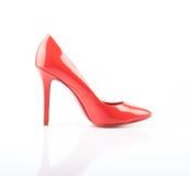 时髦的女人鞋子 库存图片