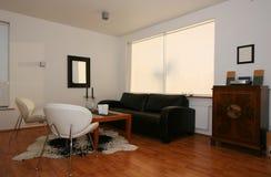 时髦的客厅 免版税库存照片