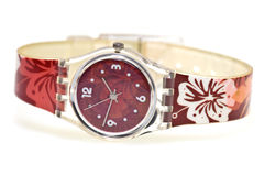 时髦的手表腕带 免版税图库摄影