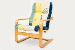 时髦的扶手椅子 图库摄影