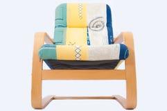 时髦的扶手椅子 库存照片