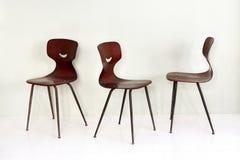 时髦的木bentwood椅子 免版税库存图片