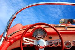 时髦的汽车 免版税库存图片