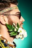 时髦的胡子 图库摄影