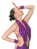 时髦的舞蹈演员 库存图片
