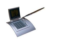 时髦的计算器 免版税库存照片