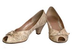 时髦的鞋类 免版税库存图片