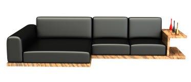 时髦的3d沙发 图库摄影