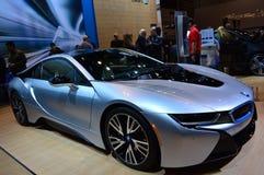 时髦的BMW芝加哥车展2015年 免版税库存图片