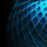 时髦背景蓝色的幻想 图库摄影