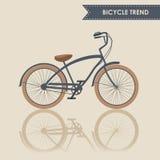 时髦自行车 免版税库存图片