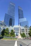 时代华纳中心在纽约 免版税库存图片