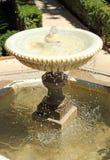 时间喷泉 免版税图库摄影