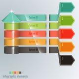 时间安排亲的不同的tooltips -传染媒介 免版税库存照片
