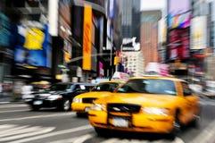 时代广场在曼哈顿纽约 免版税库存照片