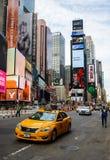 时代广场在纽约 库存图片