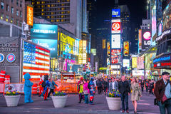 时代广场纽约美国 库存图片