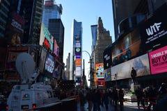时代广场纽约, NY 免版税图库摄影