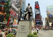 时代广场,纽约百老汇 免版税库存照片