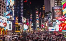 时代广场,纽约 库存照片
