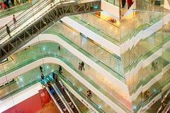 时代广场购物中心, HK 免版税库存照片
