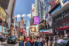 时代广场NYC 图库摄影