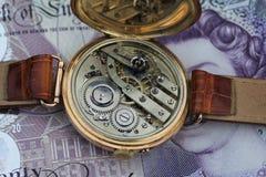 时间是金钱 免版税图库摄影