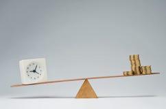 时间是货币 免版税库存照片