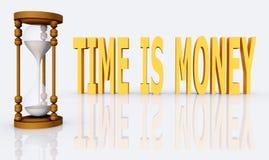 时间是货币 库存图片