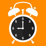 时间是货币 免版税库存图片