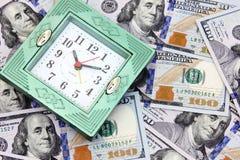 时间是货币 免版税图库摄影