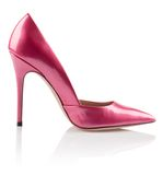 时兴的桃红色妇女鞋子 免版税库存照片