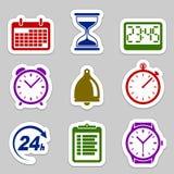 时间象集合 免版税图库摄影