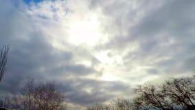 时间间隔剧烈的云彩 影视素材