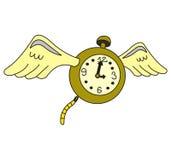 时间飞行 图库摄影